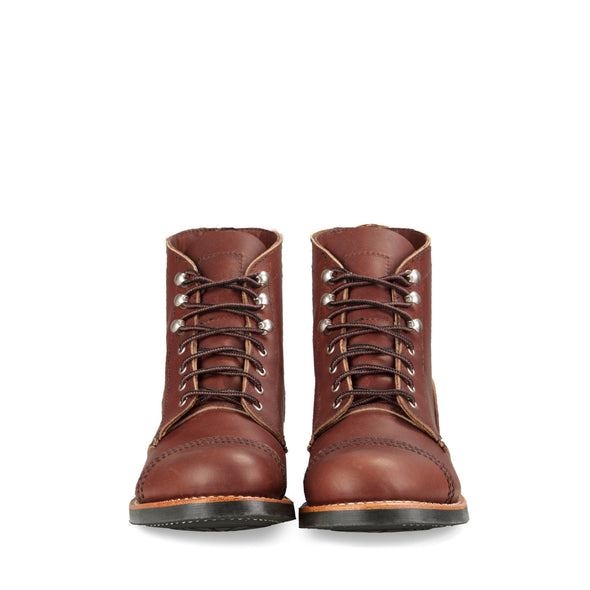No. 3365 - Red Wing Heritage Iron Ranger Short Boot in Amber Harness Leather