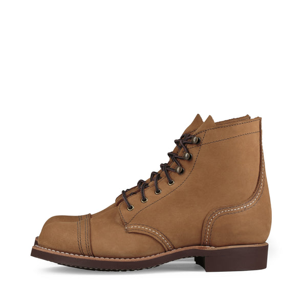 No. 3367 - Red Wing Heritage Iron Ranger Short Boot in Honey Chinook Leather