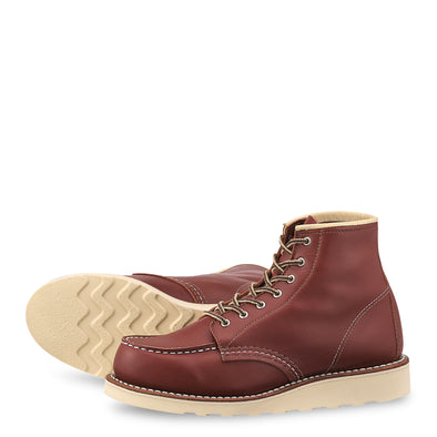 "No. 3369 - Red Wing Heritage 6"" Classic Moc Short Boot in Colorado Atanado Leather"