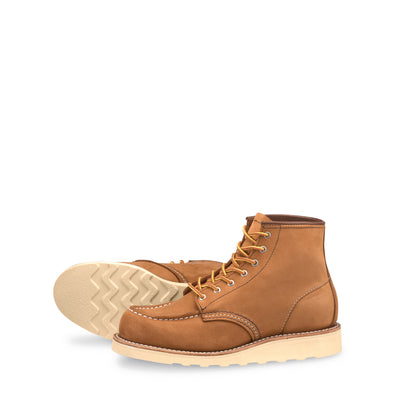 "No. 3372 - Red Wing Heritage 6"" Classic Moc Short Boot in Honey Chinook Leather"