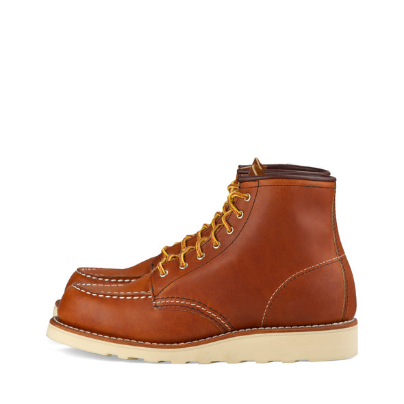 "No. 3375 - Red Wing Heritage 6"" Classic Moc Short Boot in Oro Legacy Leather"