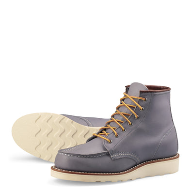 "No. 3378- Red Wing Heritage 6"" Classic Moc Short Boot in Granite Boundary"
