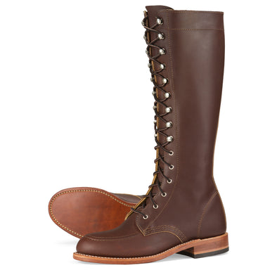 No. 3386 - Red Wing Heritage Gloria Tall Boot in Mahogany Oro-Iginal Leather
