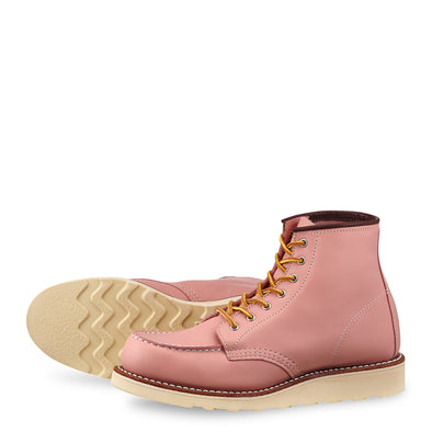 "No. 3387 - Red Wing Heritage 6"" Classic Moc Short Boot in Rose Boundary"