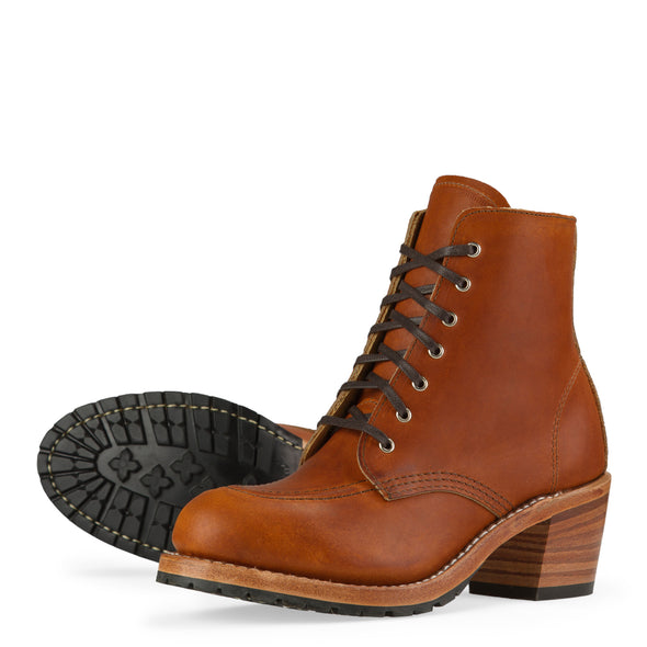 No. 3404 - Red Wing Heritage Clara Heeled Boot in Oro Legacy Leather