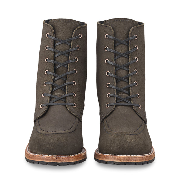 No. 3408 - Red Wing Heritage Clara Heeled Boot in Pewter Acampo Leather