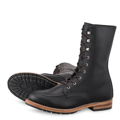 No. 3430- Red Wing Heritage Gracie Tall Boot in Black Boundary Leather