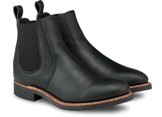 No. 3455 - Red Wing Heritage Chelsea 6-inch in Black Boundary Leather