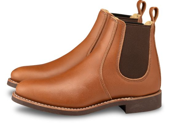 No. 3456 - Red Wing Heritage Chelsea 6-inch in Pecan Boundary Leather
