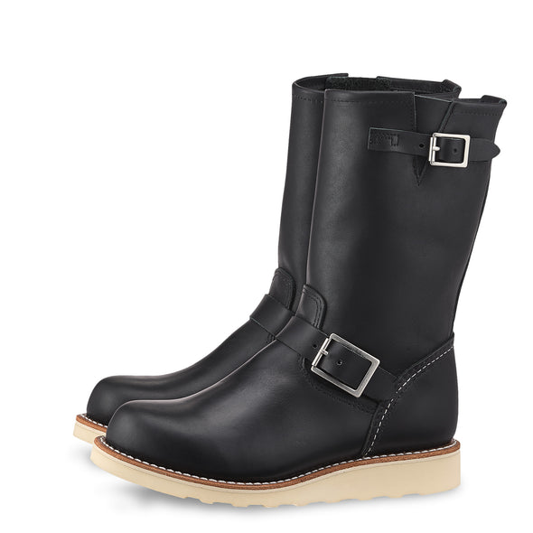 No. 3470 - Red Wing Heritage Classic Engineer Tall Boot in Black Boundary Leather