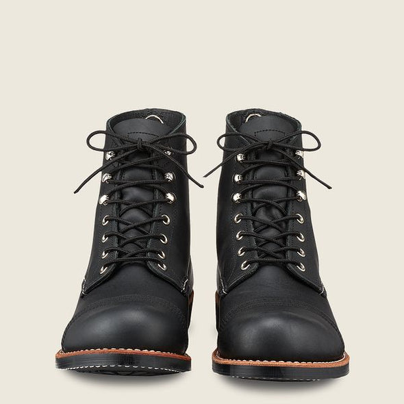 No. 8084 - Red Wing Heritage Iron Ranger in Black Harness Leather