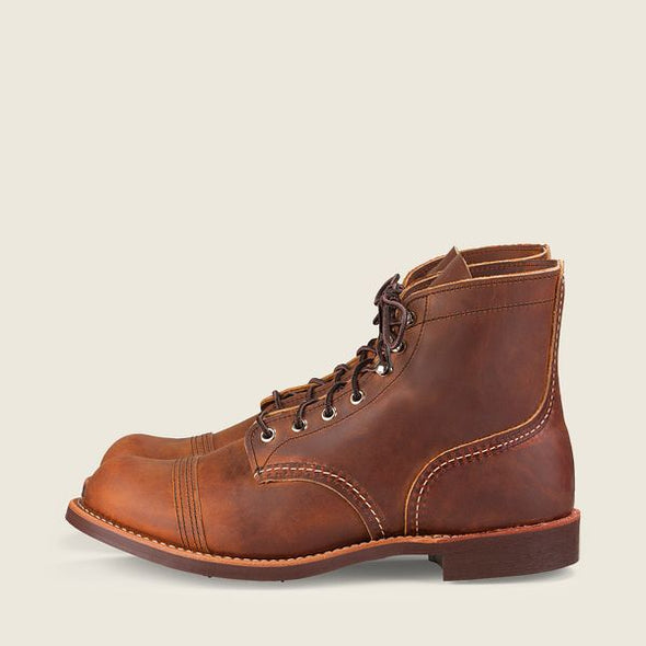 No. 8085 - Iron Ranger in Copper Rough & Tough Leather