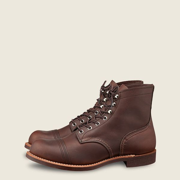 No. 8111 - Red Wing Heritage Iron Ranger in Amber Harness Leather