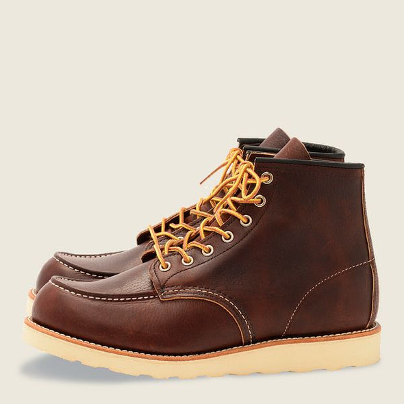 No. 8138 - Classic Moc Style in Briar Oil Slick Leather