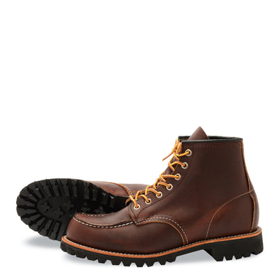 "No. 8146 - Red Wing Heritage 6"" Roughneck in Briar Oil Slick Leather"