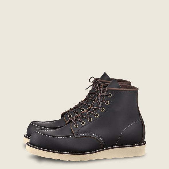 No. 8849 - Red Wing Heritage Classic Moc Style in Black Prairie Leather