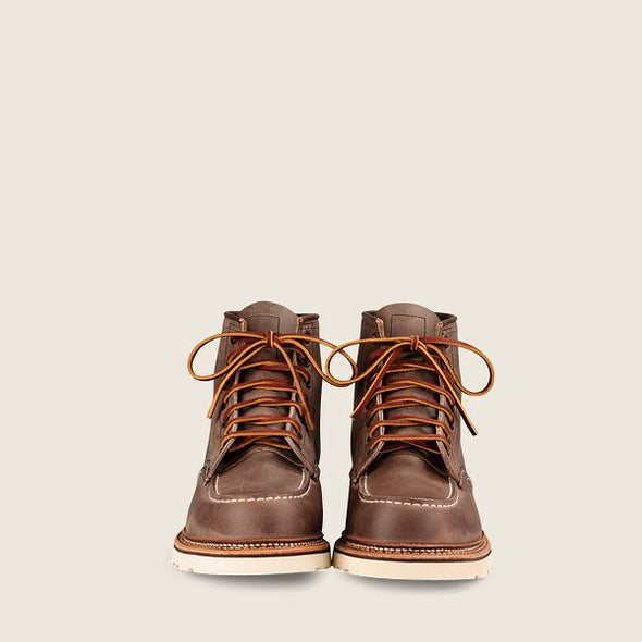 No. 8883 - Classic Moc Style in Concrete Rough & Tough