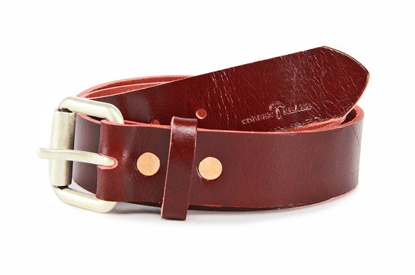 No. 914 - Work Belt in Buffalo Red
