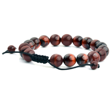 Red Tiger's Eye Bracelet by West Coast Jewelry