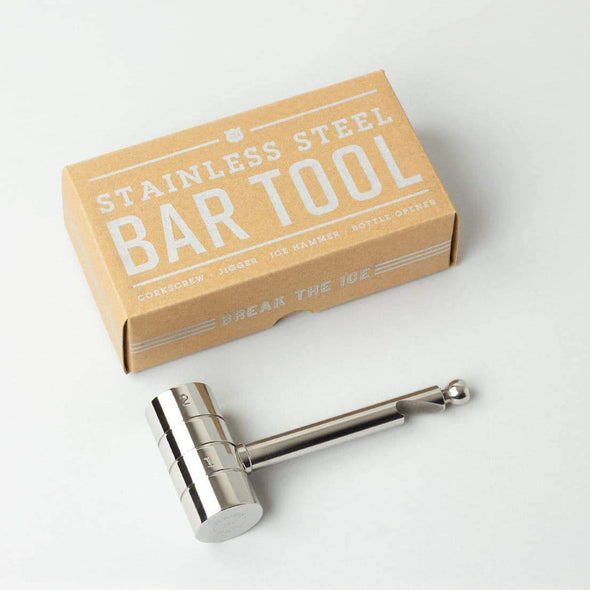 4 in 1 Bar Tool - STAINLESS STEEL