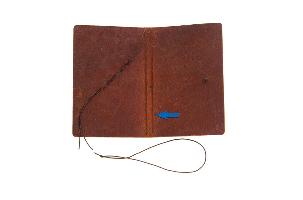 Brown Replacement Elastic for Journal Inserts