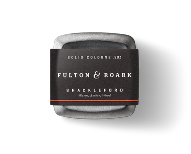 Shackleford Solid Cologne by Fulton & Roark