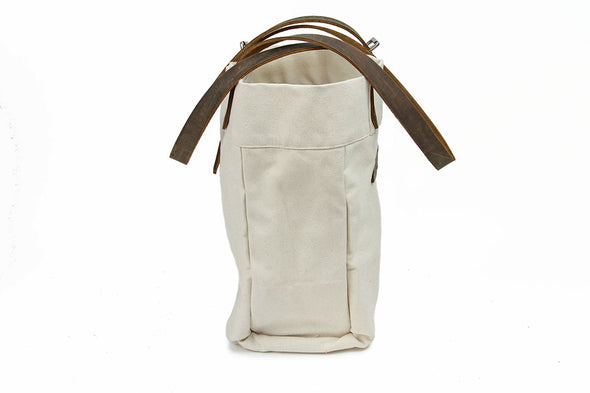 No. 814 - Canvas Tote in Natural