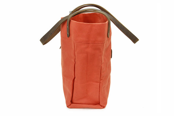 No. 814 - Canvas Tote in Orange