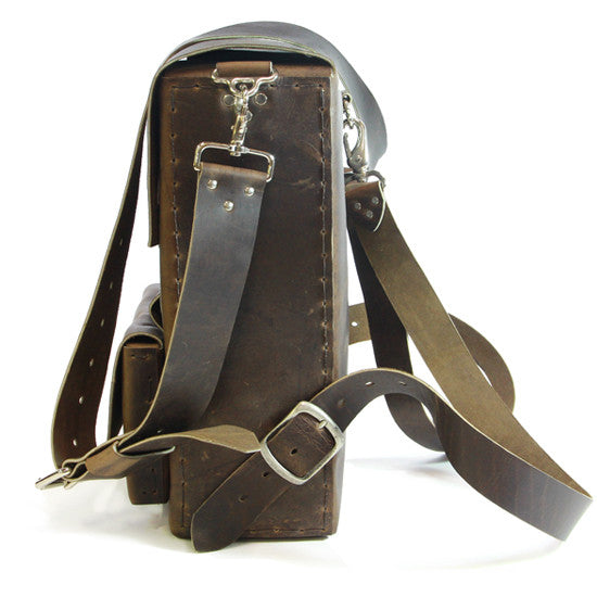 No. 312 - Backpack in OLD SCHOOL CrazyHorse - ONLY FOUR MORE MADE!