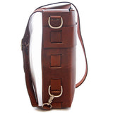 No. 820 - The Classic Handmade Leather Bag in Tobacco Brown - ONLY ONE LEFT