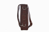 No. 820 - The Classic Handmade Leather Bag in Rustic Brown - SOLD OUT