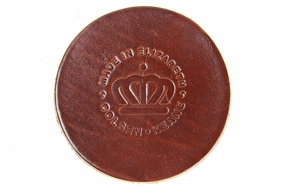 No. 314 - Six Elizabeth Edition Coasters in Havana Brown