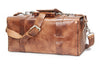 613 - Small Duffle in Glazed Tan