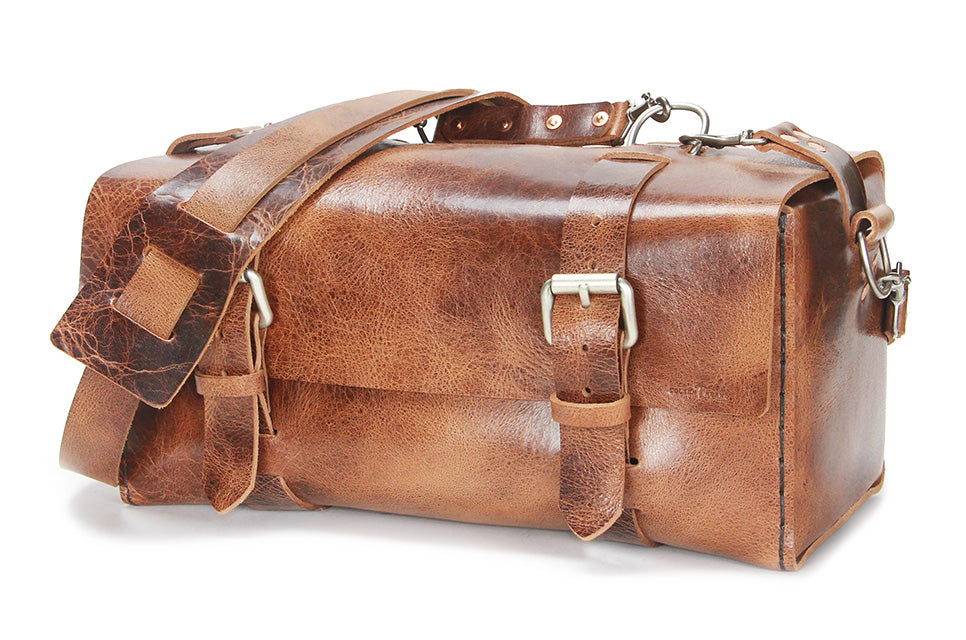 613 - Small Duffle in Glazed Tan - LIMITED SPECIAL - $582.75