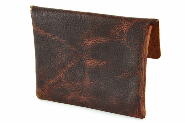 No. 218 - Standard Pouch in Denali Brown
