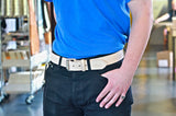 No. 518 - The Beefy Work Belt in Natural Tan