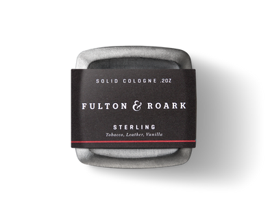Sterling Solid Cologne by Fulton & Roark