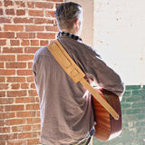 No. 315 - Guitar Strap in Natural Tan