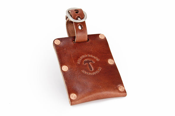 No. 615 - Luggage Tag in Havana Brown