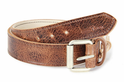 No. 518 - The Beefy Stitched Work Belt in Glazed Tan