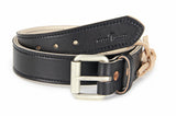 No. 518 - The Beefy Stitched Work Belt in Bridle Black - SIZE 47 - S51 - $58