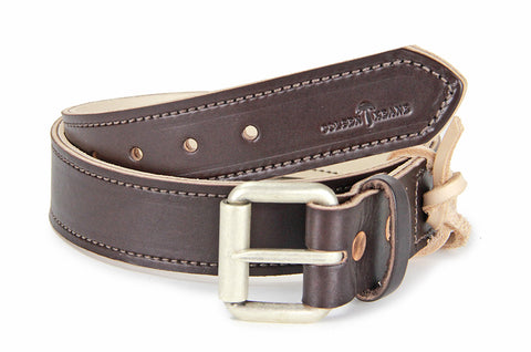 No. 518 - The Beefy Work Belt in Bridle Brown