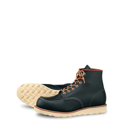 "No. 8859 - Red Wing Heritage 6"" Moc in Navy Portage"