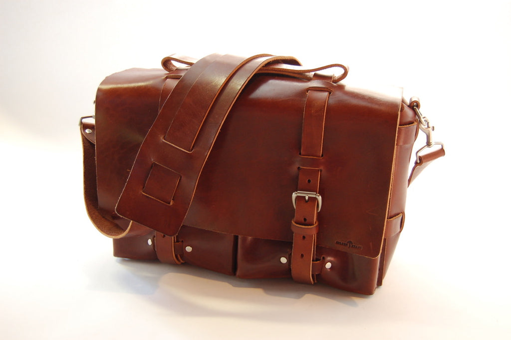 No. 4316 - Bohemian Leather Satchel in Havana Brown - SB9 - $632.50