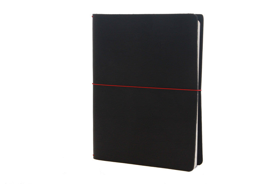 No. 1011 - Large Moleskine Cover in Deep Black