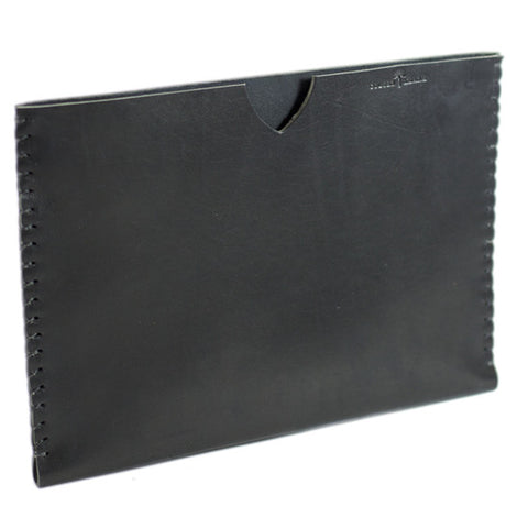 No. 410 - Simple iPad Sheath in Deep Black