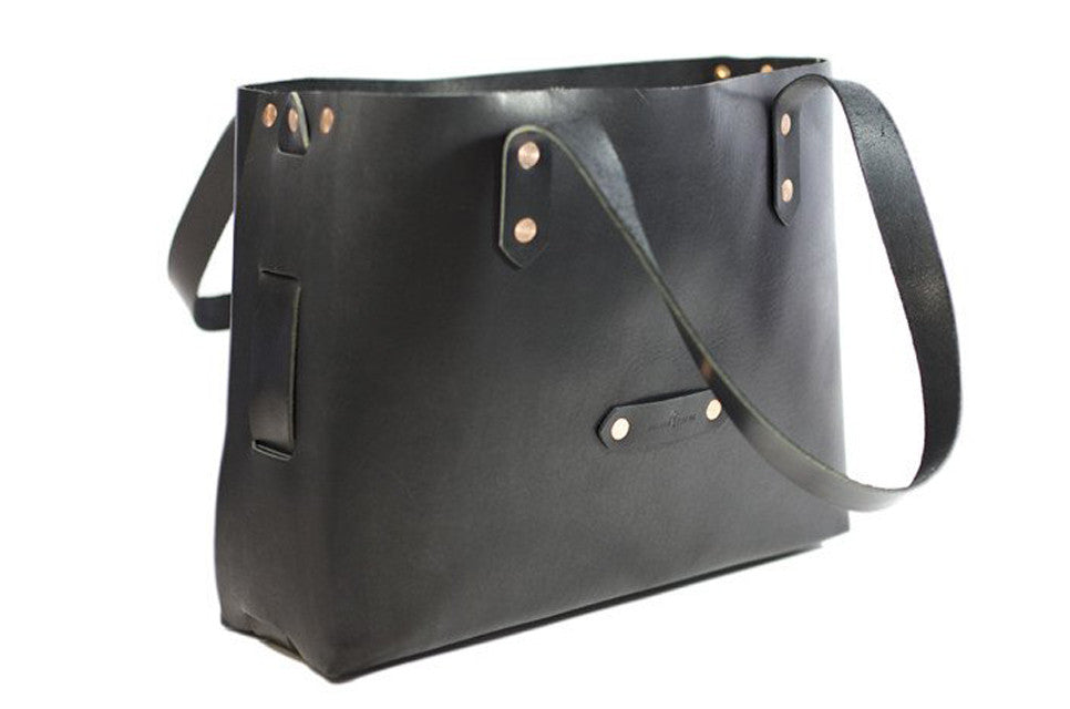No. 1111 - Tote Bag in Deep Black