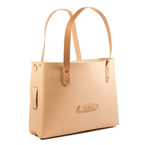 No. 1111 - Tote Bag in Natural Tan