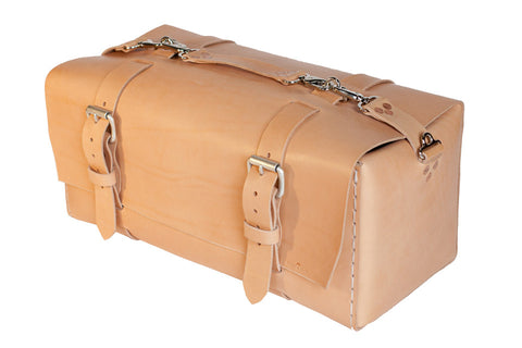 No. 613 - Medium Duffle in Natural Tan