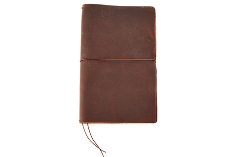 No. 510 - Medium Journal Cover in Denali Brown